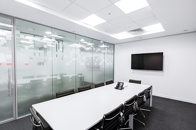 San Diego Notary, Clean and modern conference room
